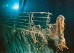 When did they find the Titanic?